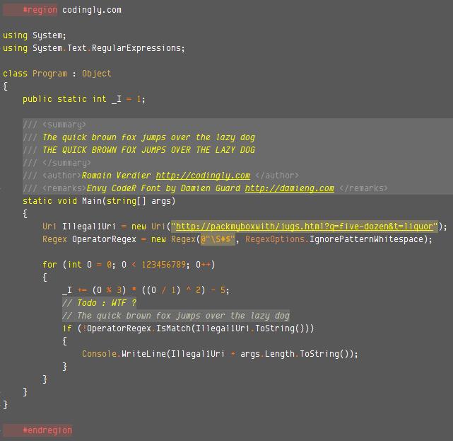 Codingly Theme C#
